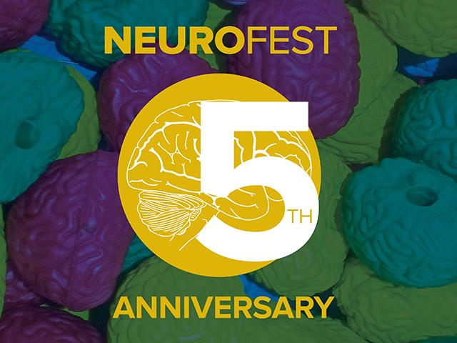 NeuroFest 5th Anniversary logo